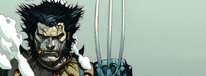 Comics Wolverine Drawing Facebook cover photo