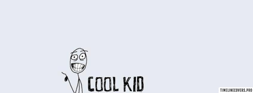 Cool Kid Facebook cover photo