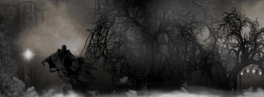 Dark Scary The Night Shift Facebook cover photo