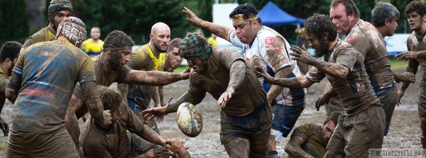 Dirty Rugby Facebook cover photo