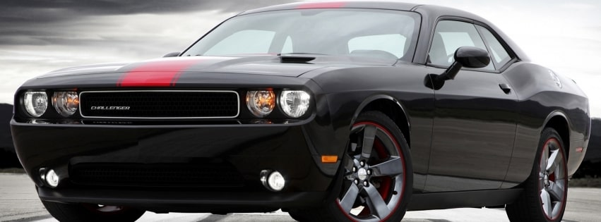 Dodge Challenger Facebook cover photo