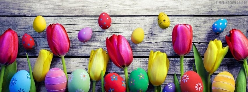 Easter Line Up Facebook cover photo