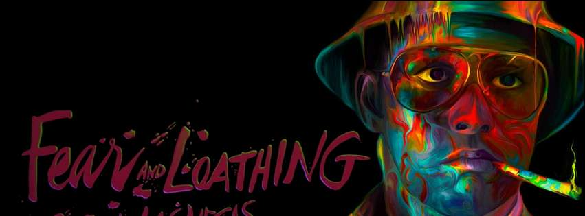 Fear and Loathing in Las Vegas Facebook cover photo