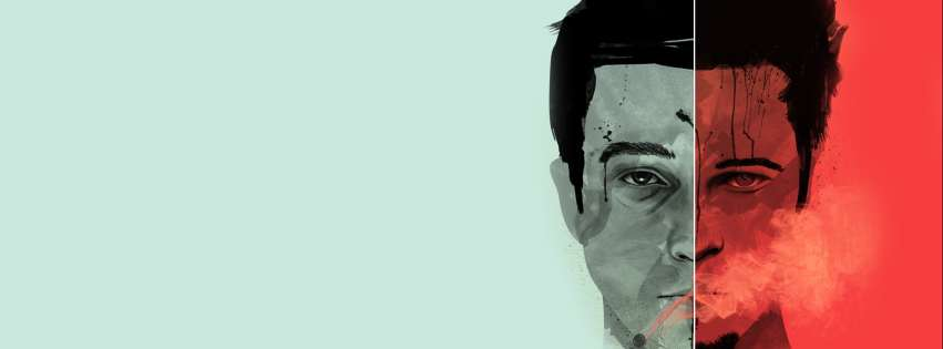 Fight Club Poster Facebook cover photo