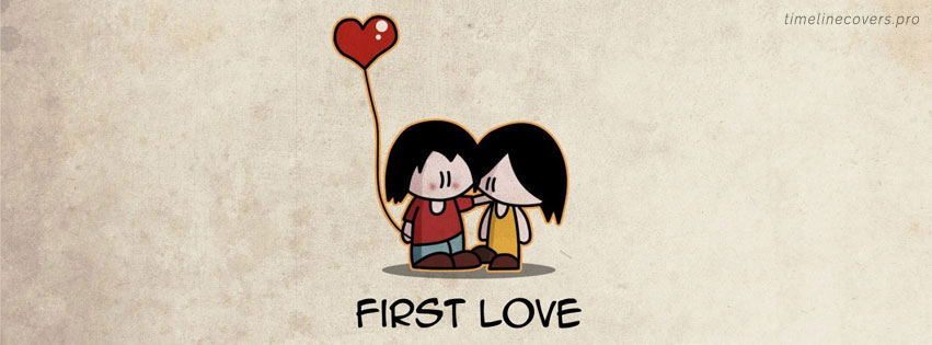 First Love Facebook cover photo