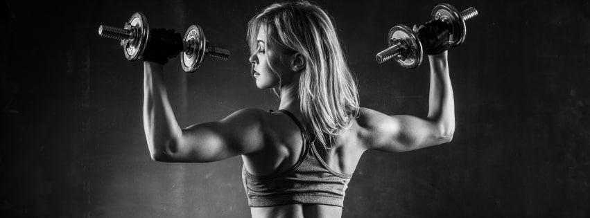 Fitness Working Out Facebook cover photo