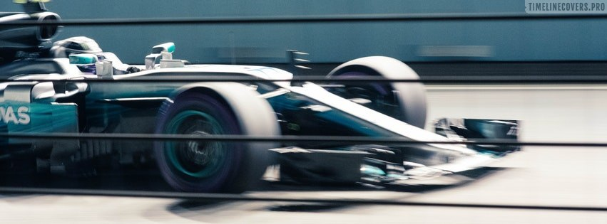 Formula One Racing Facebook cover photo