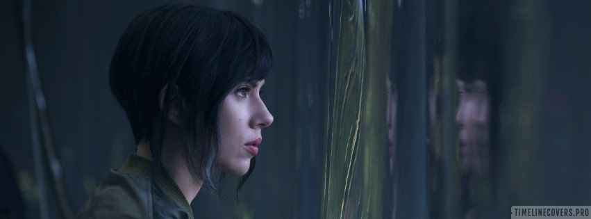 Ghost in The Shell 2017 Scarlett Johansson Facebook cover photo