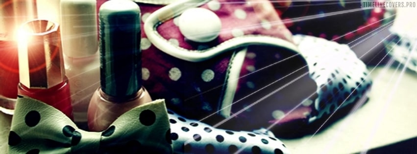 Girly Fashion Facebook cover photo