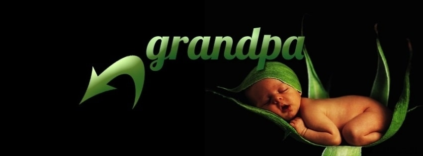 Grandpa Facebook cover photo