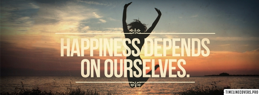 Happiness Depends On Facebook cover photo