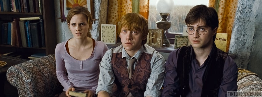Harry Potter and The Deathly Hallows Part 1 Facebook cover photo