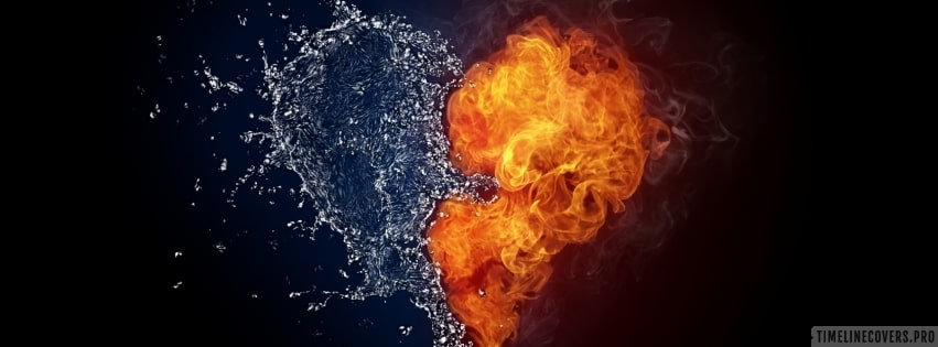 Hearth Made of Water and Fire Facebook cover photo