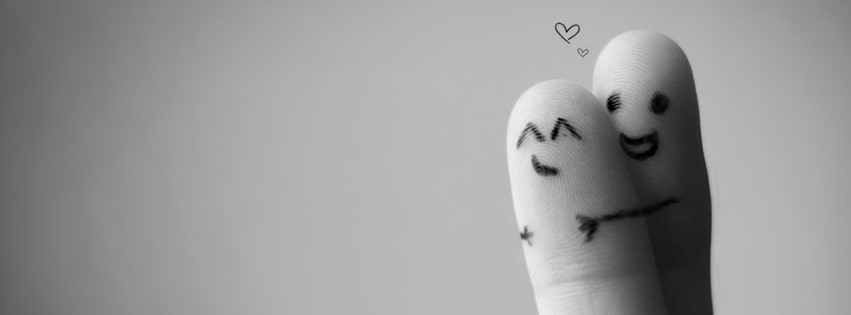 Hugging Sweet Fingers Facebook cover photo