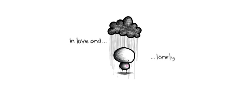 In Love and Lonely Facebook cover photo