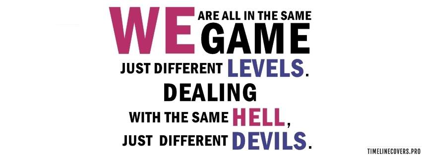 In The Same Game Facebook cover photo