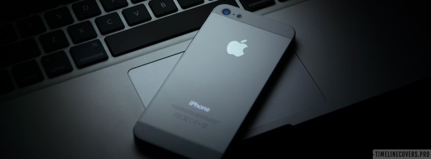 Iphone on a Mac Facebook cover photo