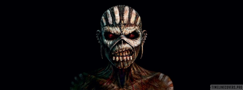 Iron Maiden The Book of Souls Facebook cover photo