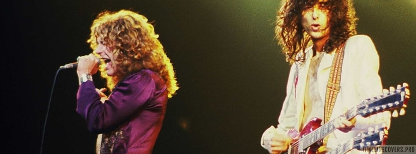 Led Zeppelin Concert Facebook cover photo