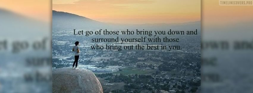 Let Go Those Facebook cover photo