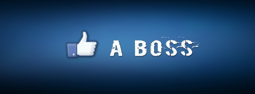 Like a Boss Facebook cover photo