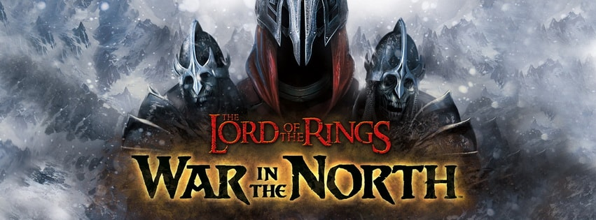 Lord of The Rings War in The North Facebook cover photo
