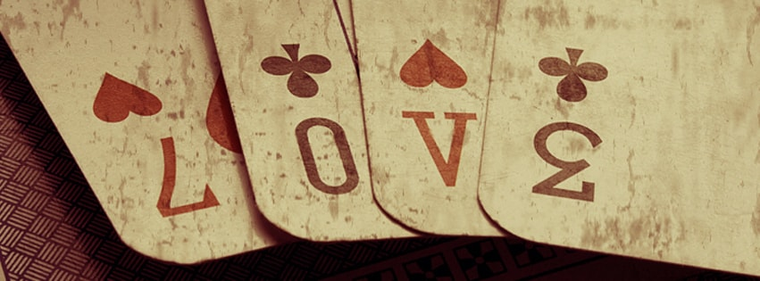 Love Cards Facebook cover photo
