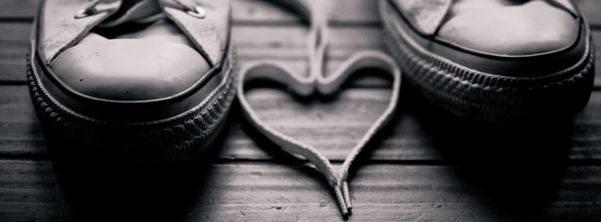 Love Shoes Facebook cover photo