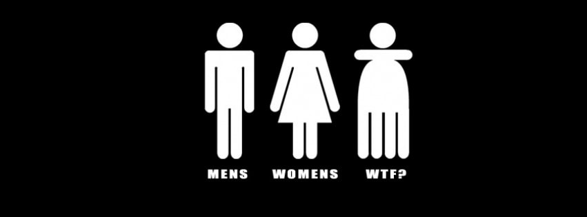 Mens Womans Wtf Facebook cover photo