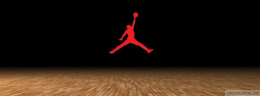 Michael Jordan Silhouette Facebook cover photo