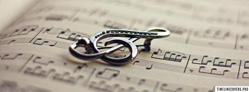 Music Charm Facebook cover photo