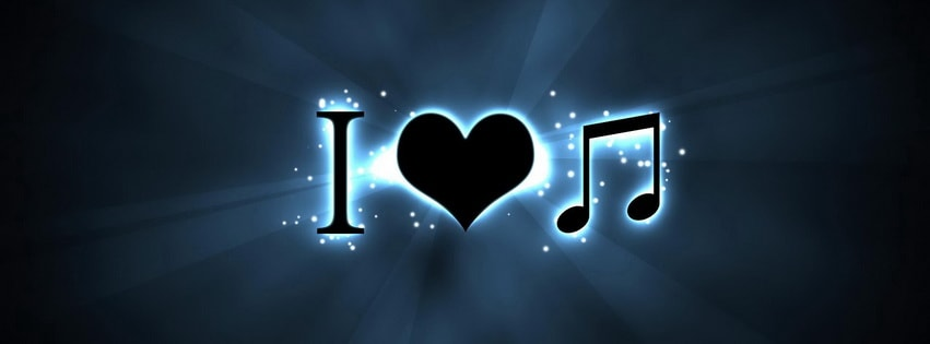 Music Love Facebook cover photo