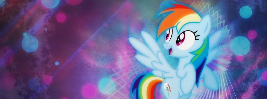 My Little Pony Friendship is Magic Facebook cover photo