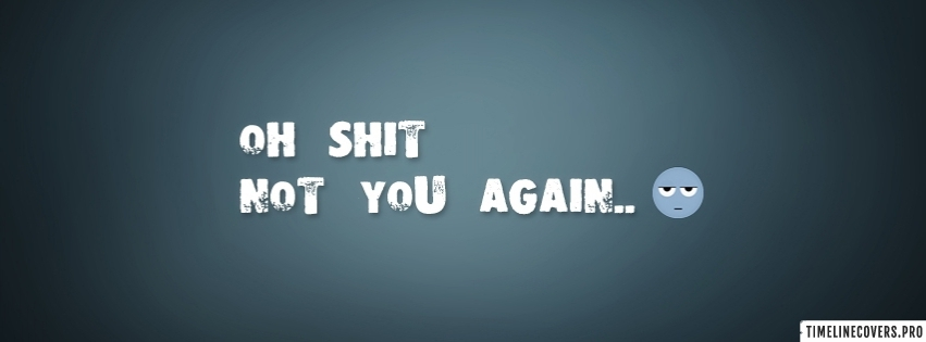 Not You Again Facebook cover photo