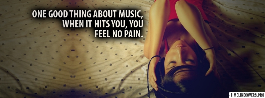 One Good Thing about Music Facebook cover photo