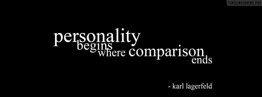 Personality Begins Facebook cover photo