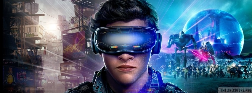 Ready Player One Facebook cover photo