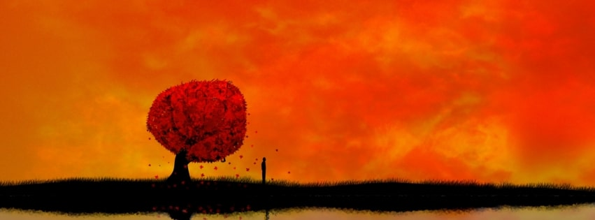 Sad and Alone Lonely Facebook cover photo