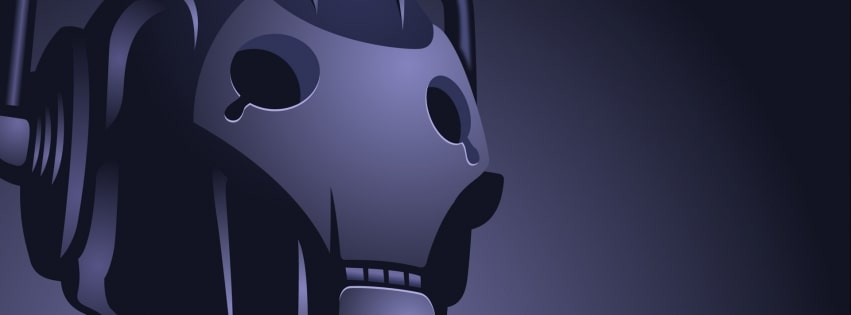 Sci Fi Robot You Will be Deleted Facebook cover photo