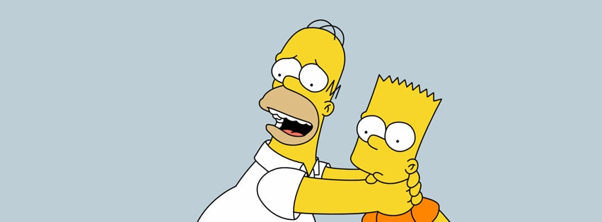 Simpsons Facebook cover photo