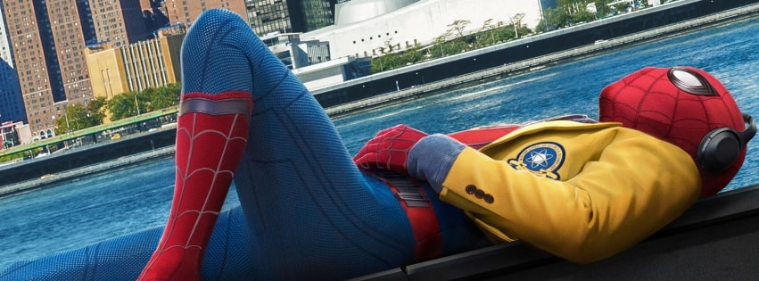 Spider Man Homecoming Tom Holland Facebook cover photo