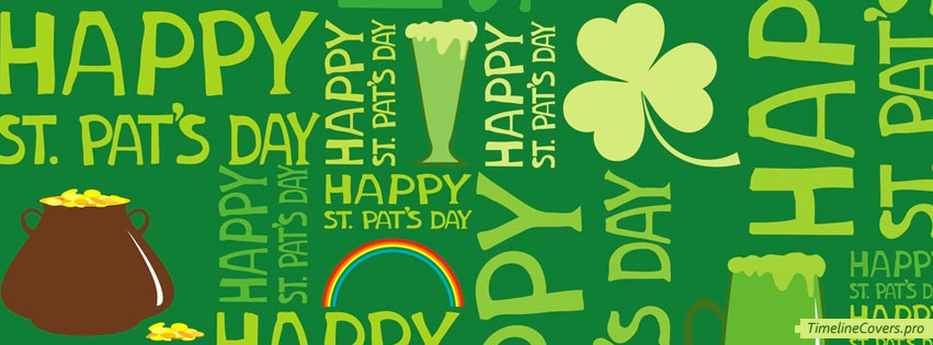 St Patricks Day Facebook cover photo