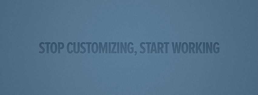 Start Working Facebook cover photo