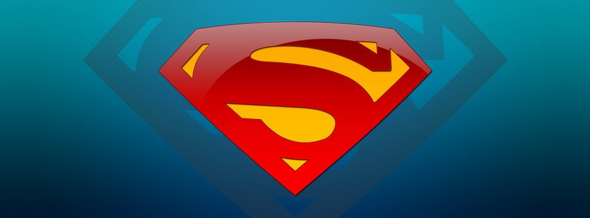 Superman S Facebook cover photo