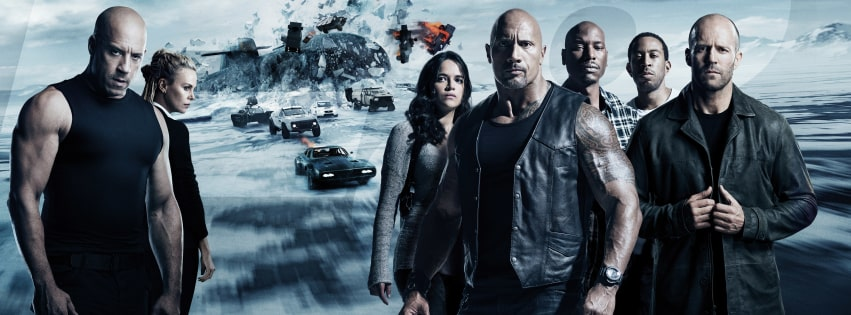 The Fate of The Furious Facebook cover photo