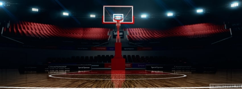 The Night Before a Big Basketball Event Facebook cover photo