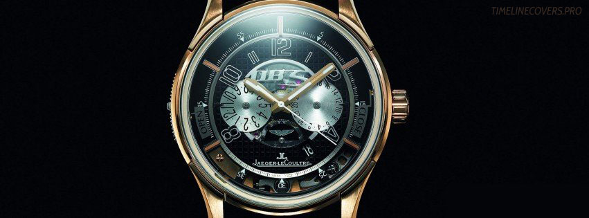 Transponder Luxury Watch Jaeger Le Coultre Facebook cover photo
