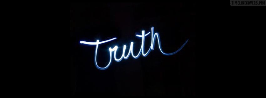 Truth Facebook cover photo