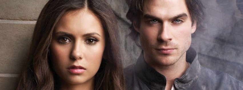 Tv Show The Vampire Diaries Facebook cover photo