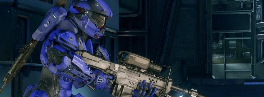 Video Game Halo 5 Guardians Facebook cover photo